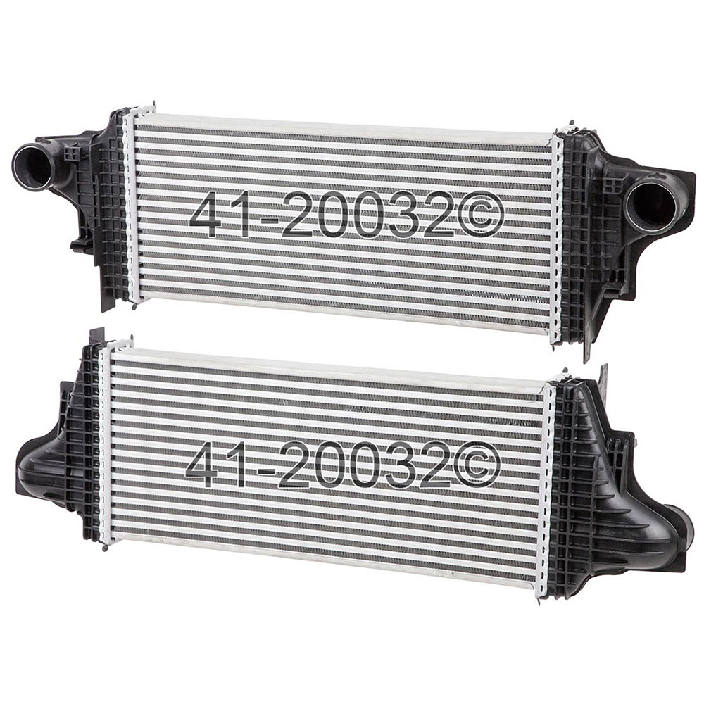 Mercedes Benz R320 Intercooler