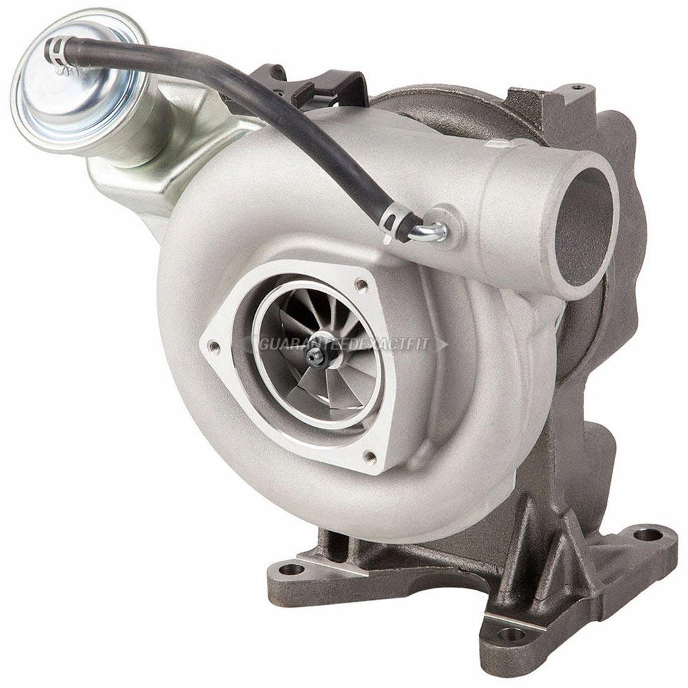 Gmc sierra turbocharger
