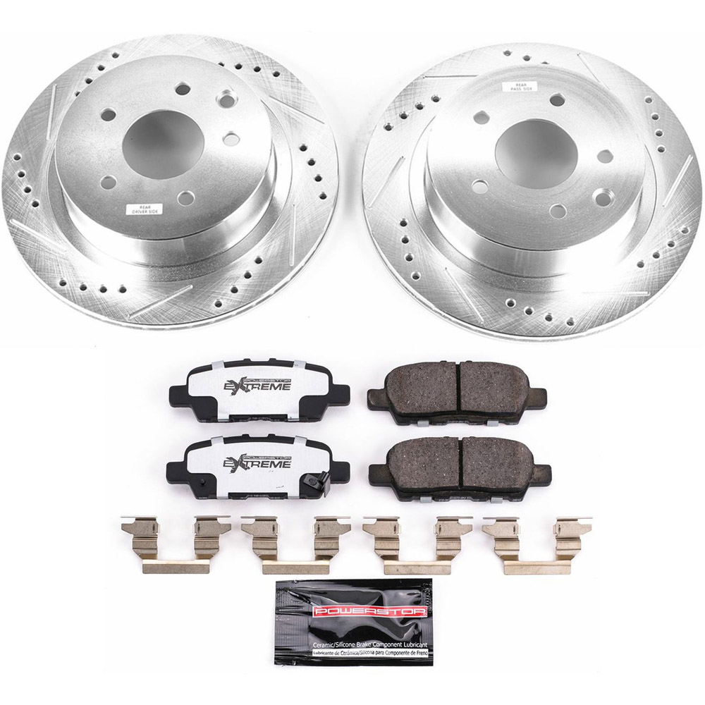 nissan Rogue Sport Performance Disc Brake Pad and Rotor Kit