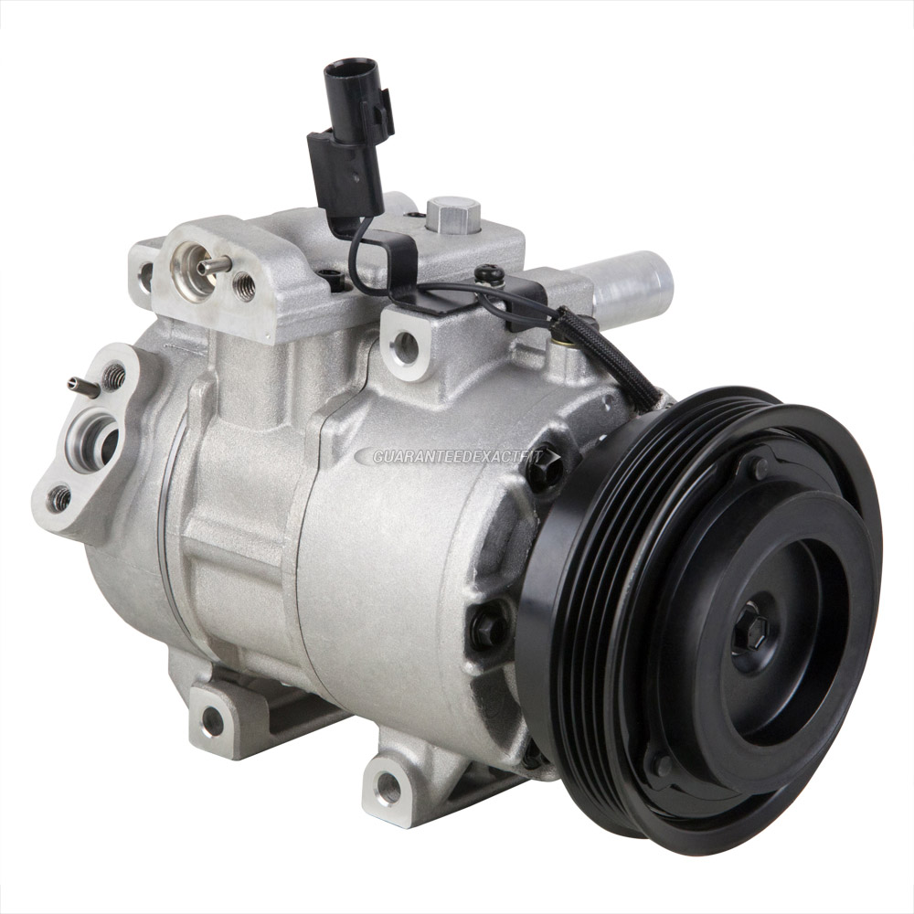 1 Year Warranty AC Compressor Fits 2006-2011 Kia Rio /& Rio5 Reman 97371
