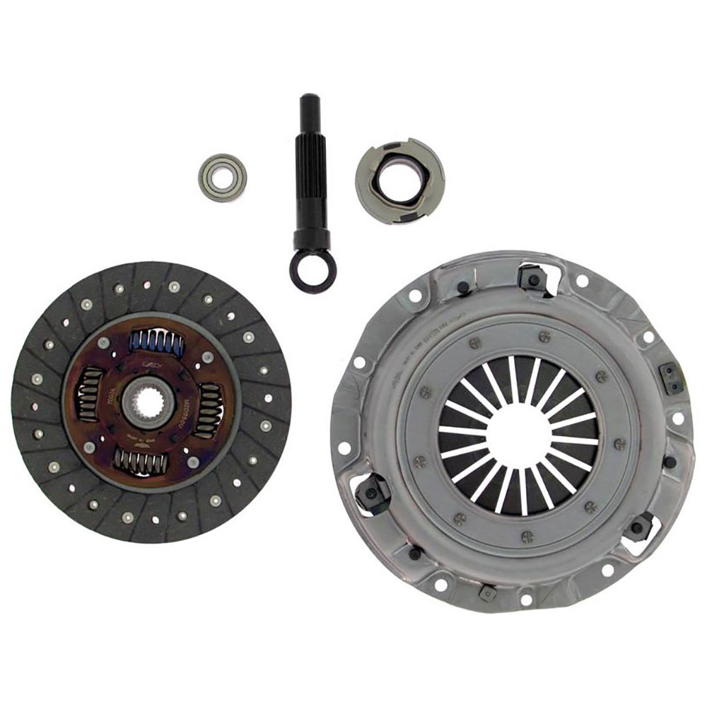 2001 Kia Rio Clutch Kit 1 5l Engine 52