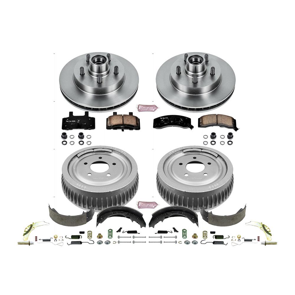 Disc Brake Pad and Rotor / Drum Brake Shoe and Dru
