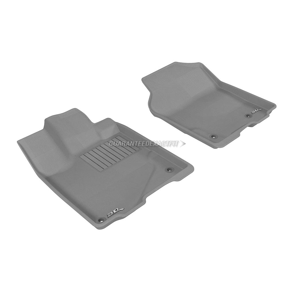 2018 Acura RDX Floor Mat Set Kagu-Gray