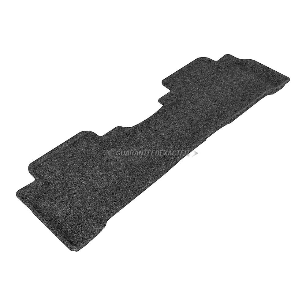 2017 Acura Mdx Floor Mat Set Sh Awd Classic Black