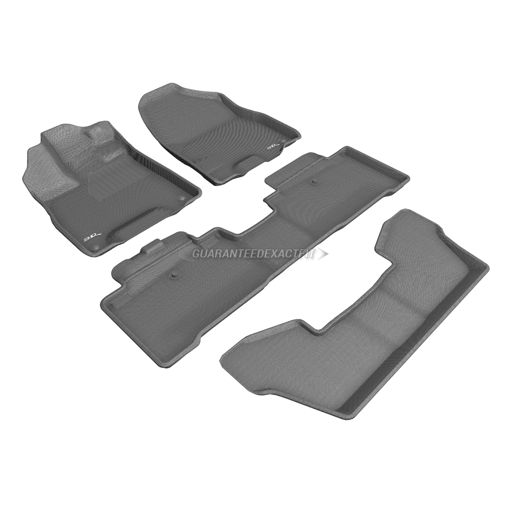 2018 Acura MDX Floor Mat Set Sport Hybrid