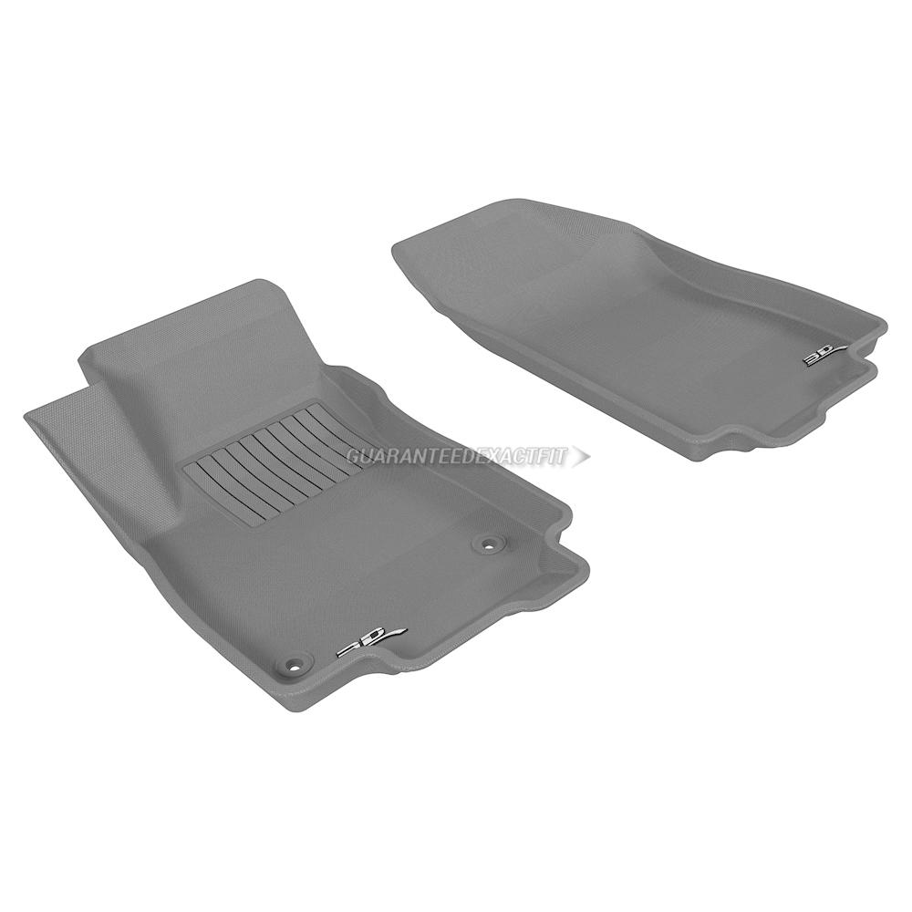 2019 Chevrolet Trax: 2019 Chevrolet Trax Floor Mat Set Kagu-Gray