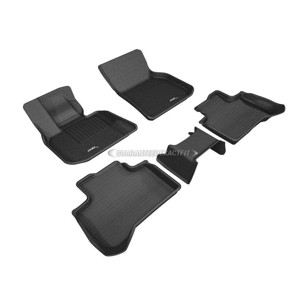 2019 Bmw X3: 2019 BMW X3 Floor Mat Set Kagu-Black W/ Center Piece