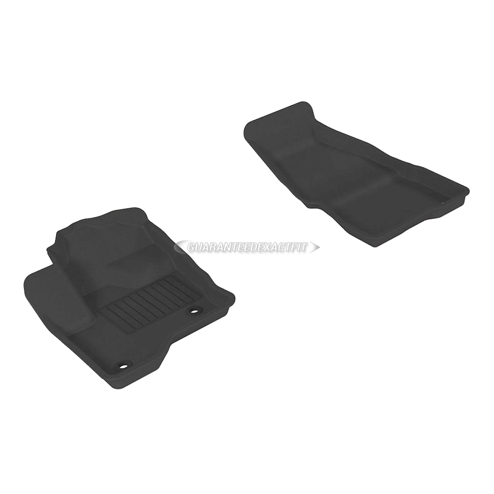 2015 Ford Flex Floor Mat Set V6 Eng.