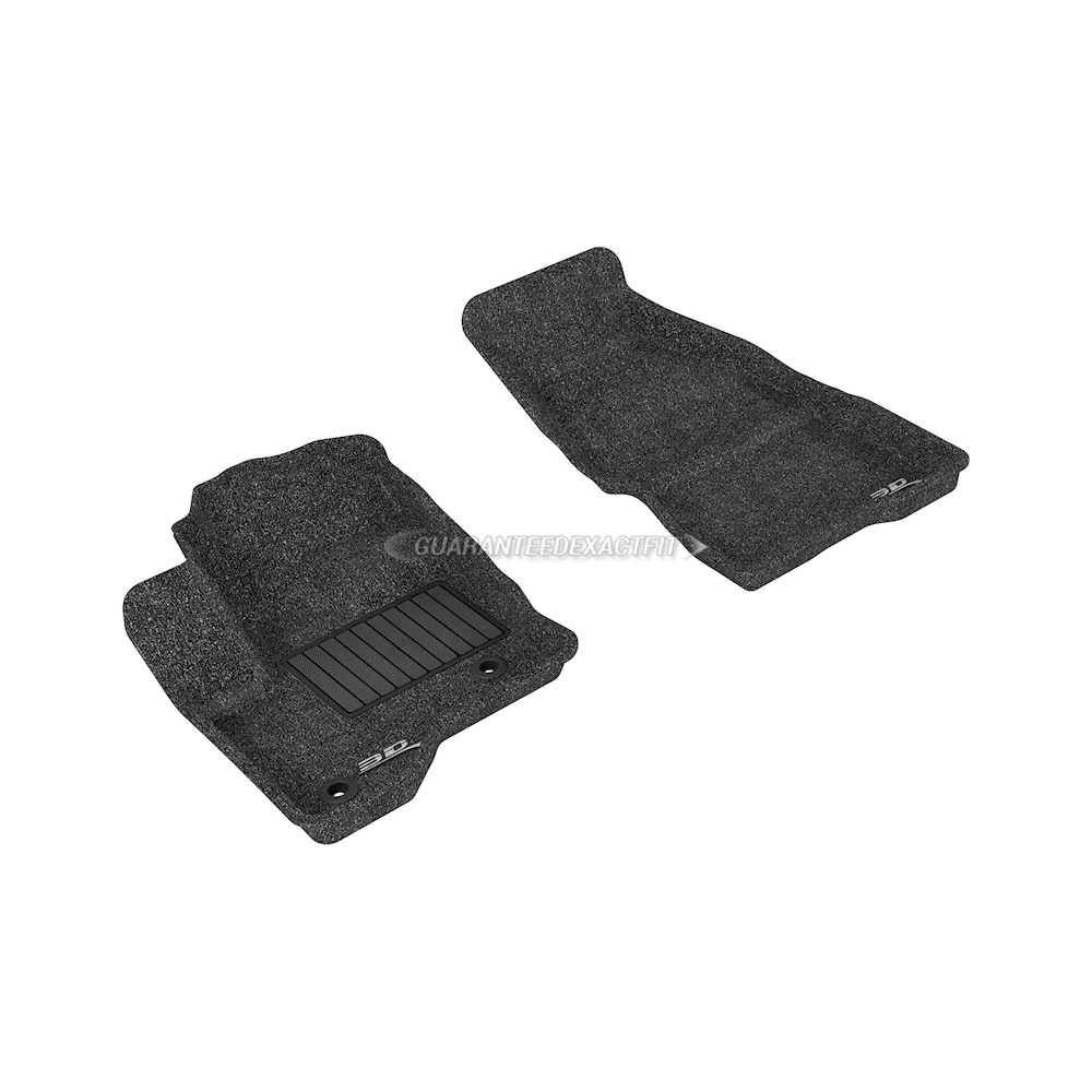 2015 Ford Flex Floor Mat Set Classic-Black