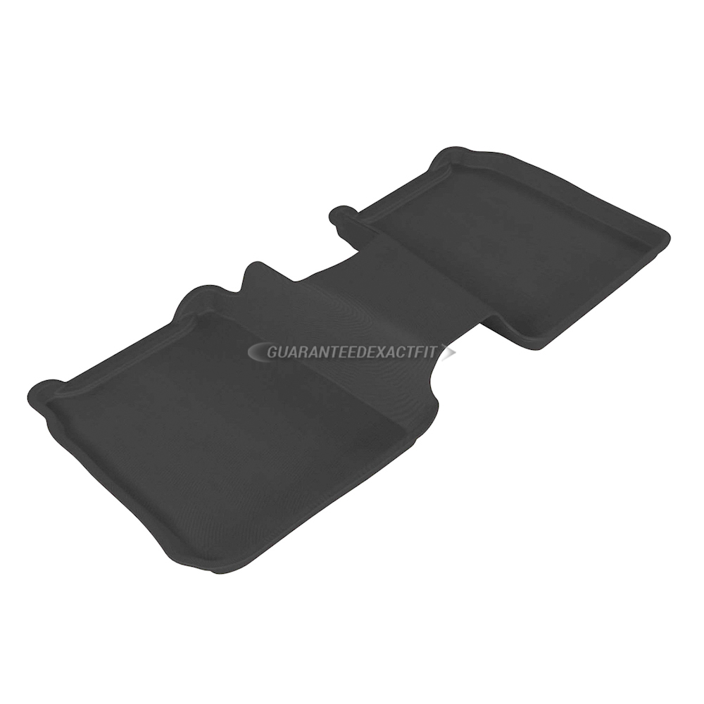 2016 Ford Flex Floor Mat Set Kagu-Black Not For Use W