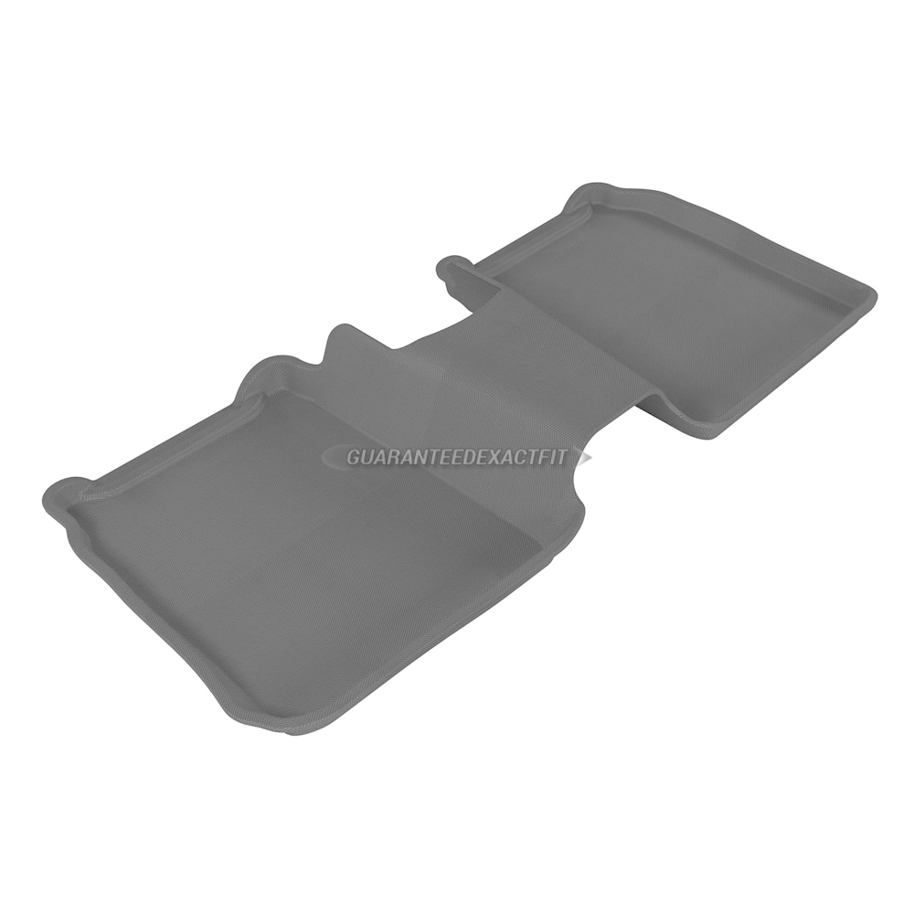2015 Ford Flex Floor Mat Set Kagu-Gray For Use W/ Center