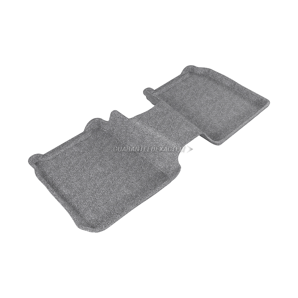 2014 Ford Flex Floor Mat Set Classic-Gray For Use W