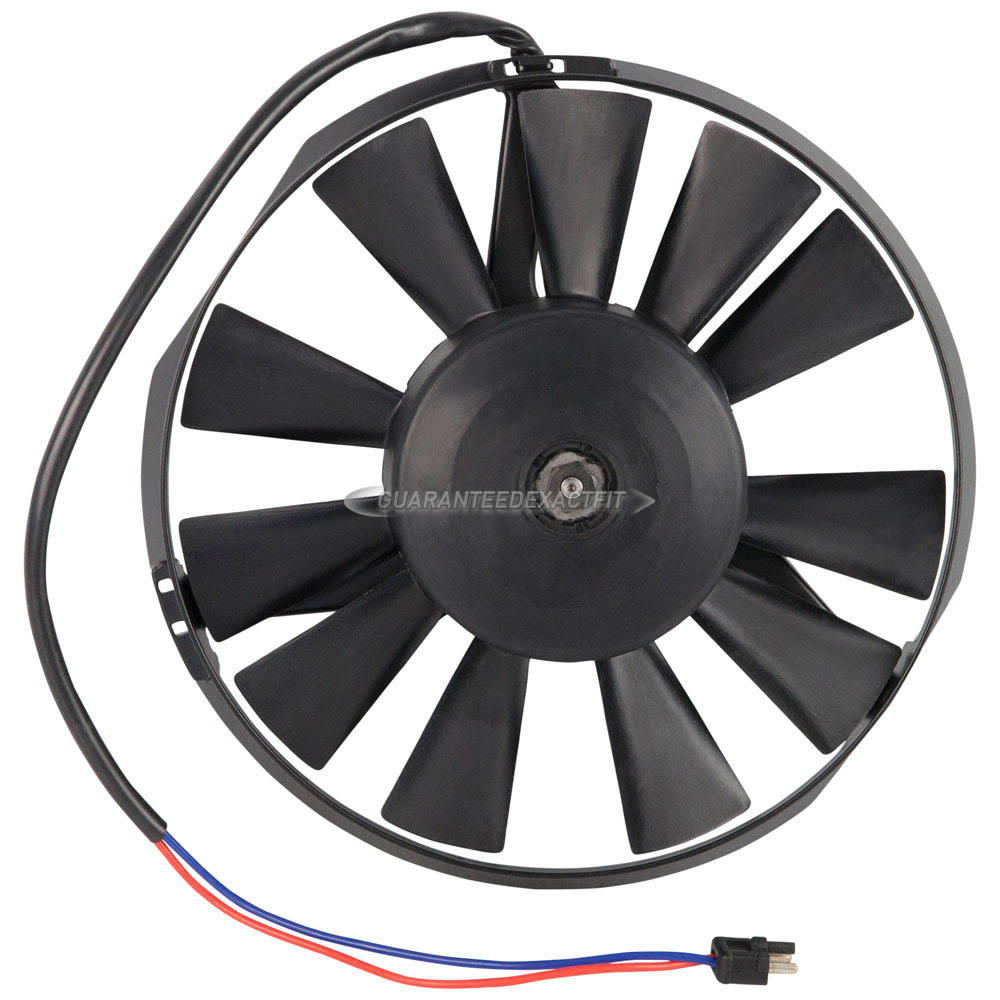 Mercedes Benz 300SD Cooling Fan Assembly