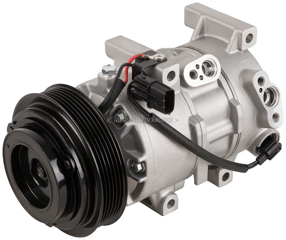 Kia Rio New OEM Compressor w Clutch