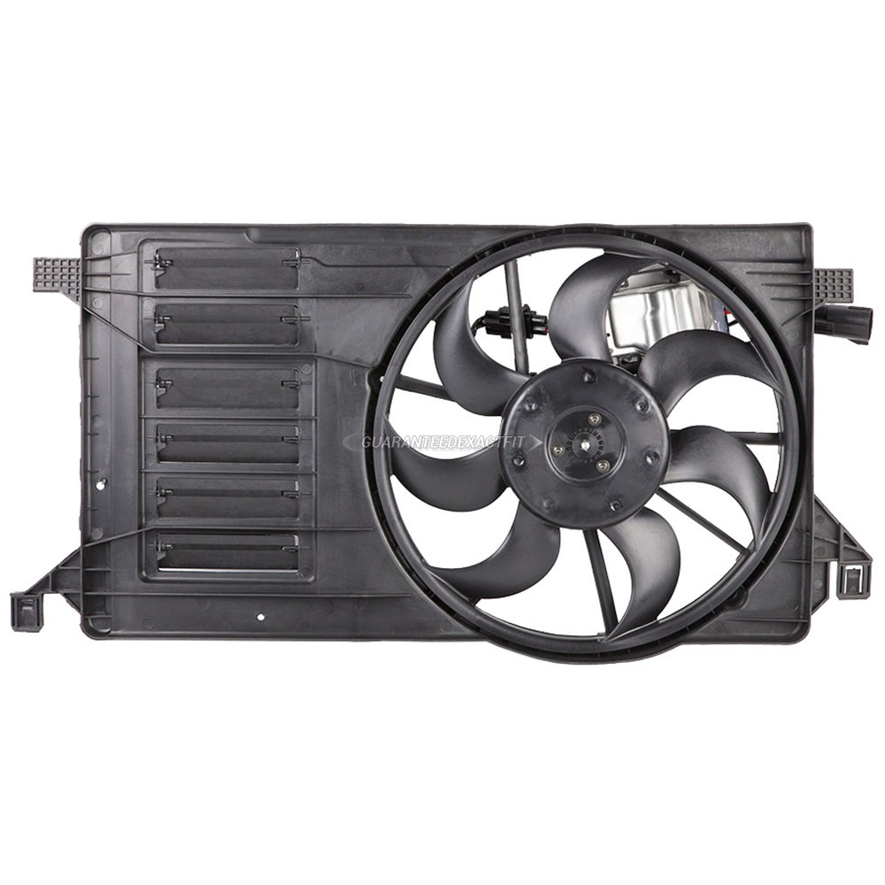 BuyAutoParts 19-20868AN Cooling Fan Assembly