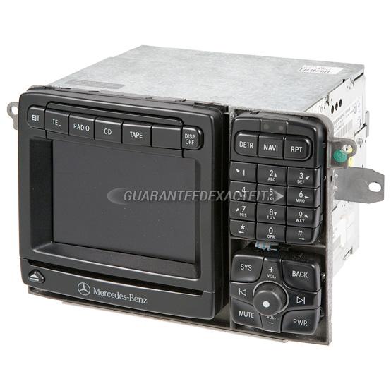 2006 mercedes benz s500 navigation unit in dash am fm for Mercedes benz navigation cd