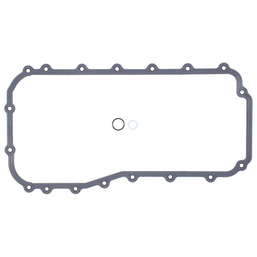 1997 chrysler town and country engine oil pan gasket set 3 for Motor oil for chrysler town and country