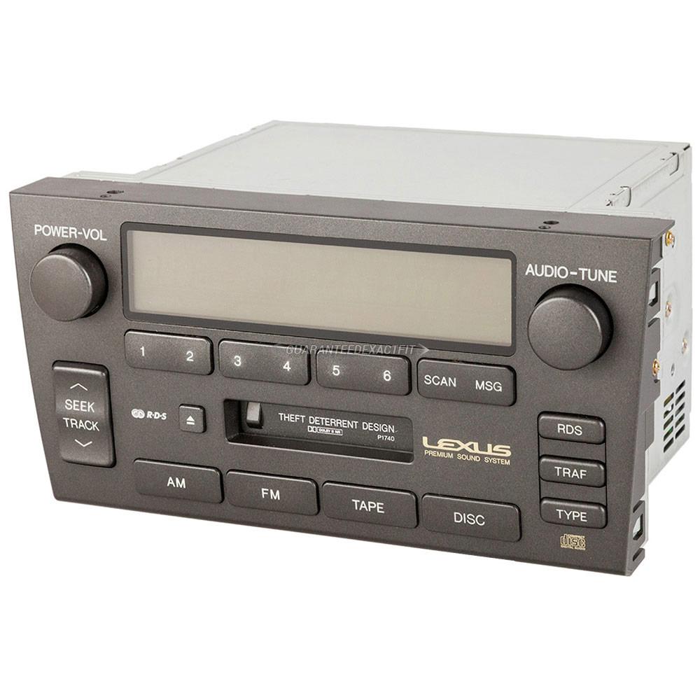 lexus gs300 radio knob