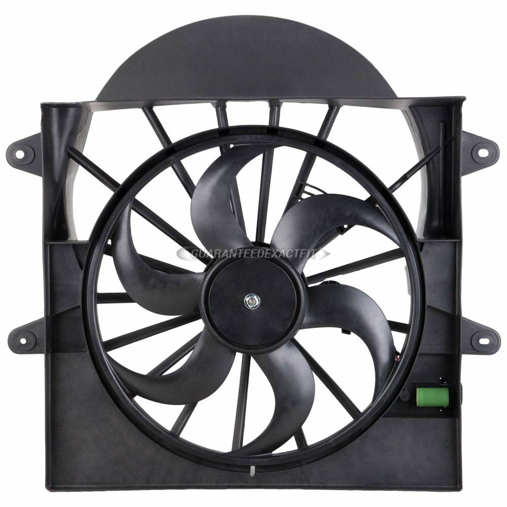 BuyAutoParts 19-20960AN Cooling Fan Assembly