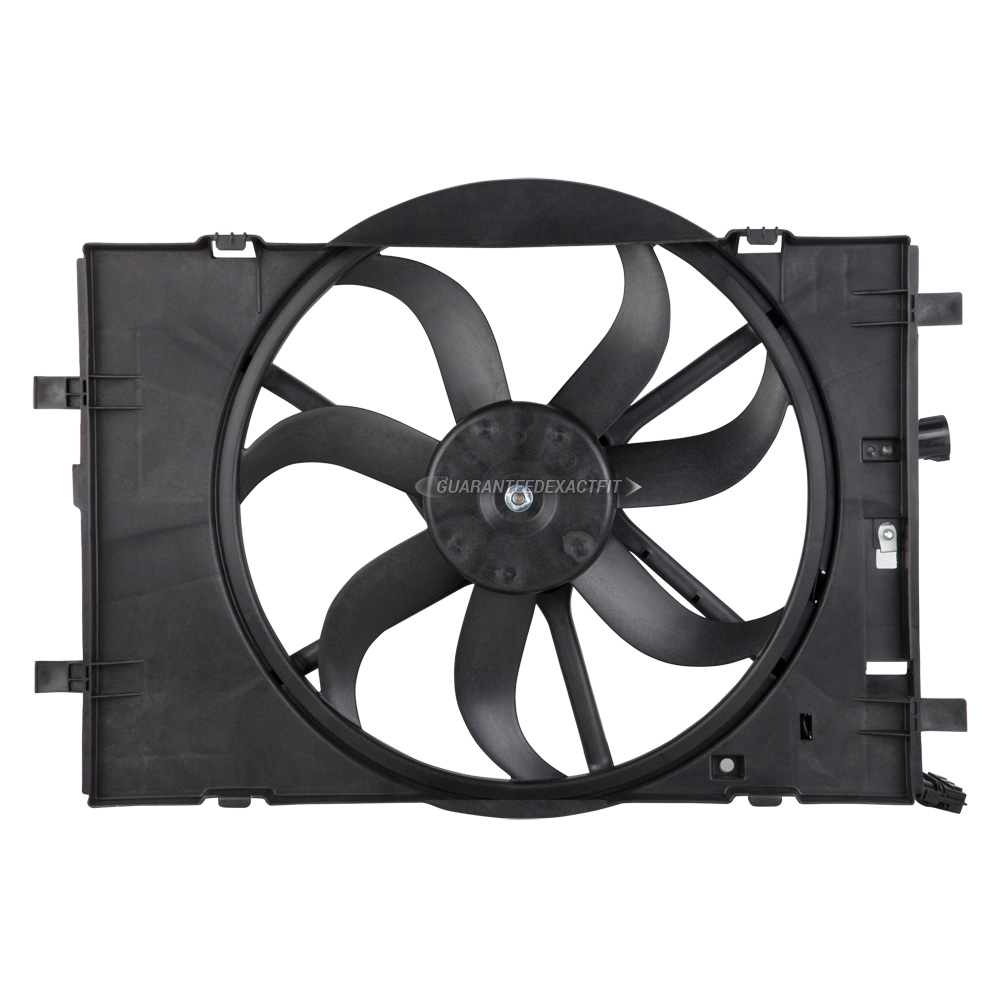 Ford fusion cooling fan assembly