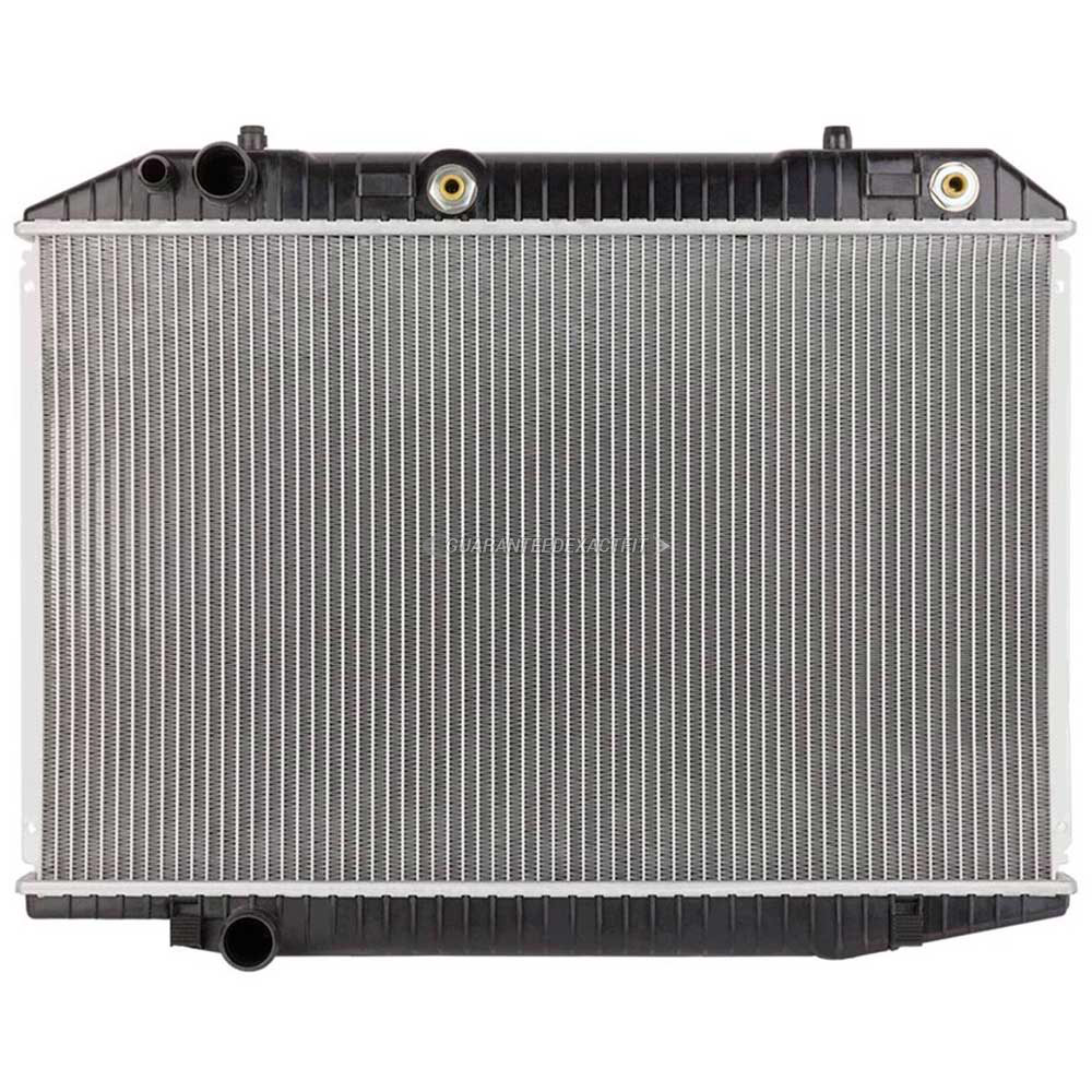 Mercedes Benz 560SEL Radiator