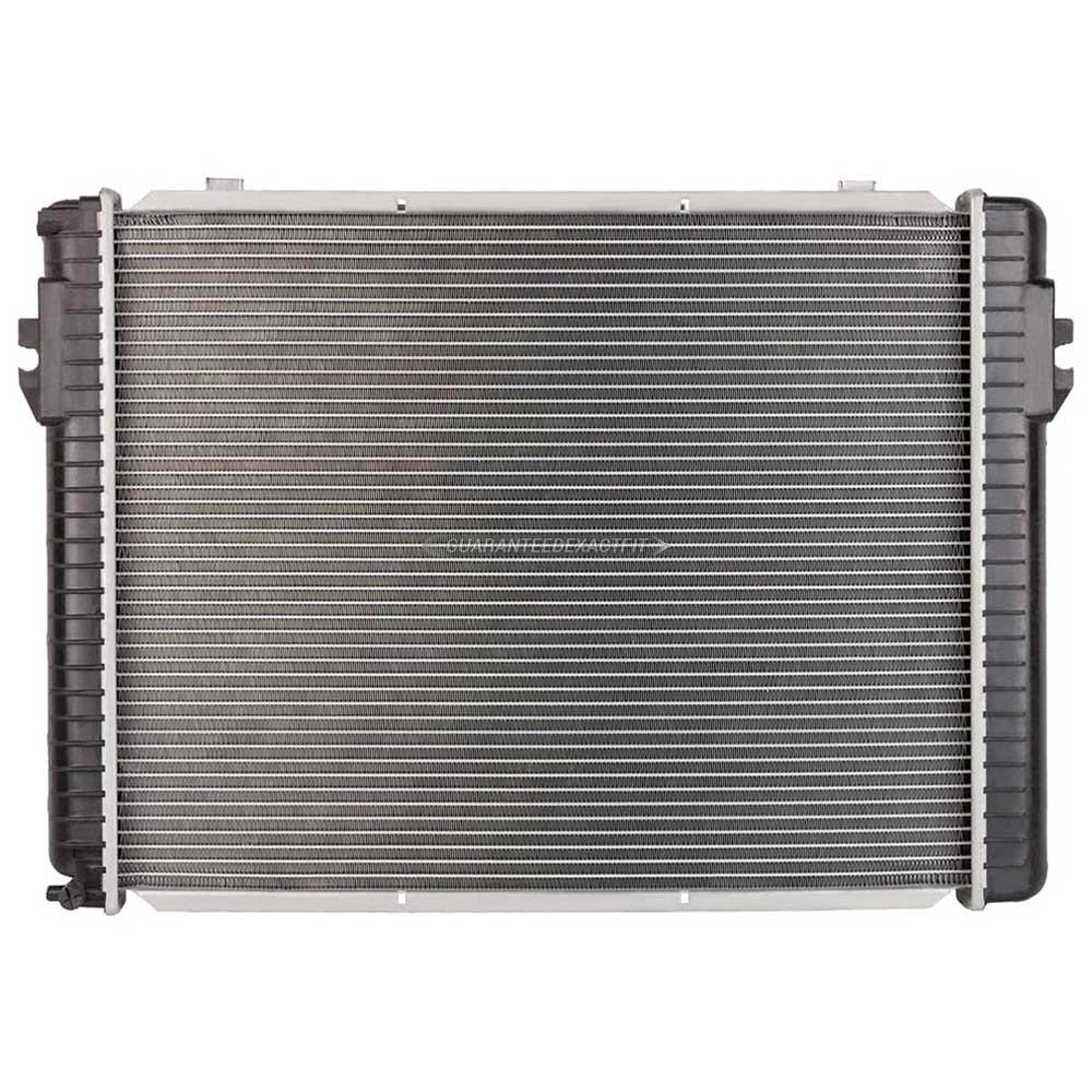 1986 mercedes benz 560sl radiator all models 19 01556 an for Mercedes benz radiator