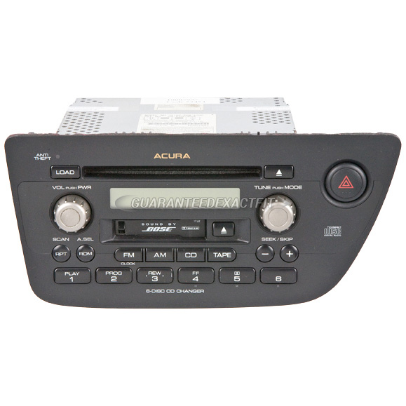 2002 Acura RSX Radio Or CD Player Radio-AM-FM-Cass-6CD
