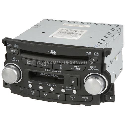 2006 Acura TL Radio Or CD Player Radio-AM-FM-Cass-6CD