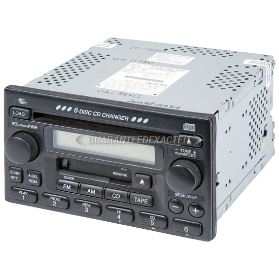 Radio Or Cd Players Remanufactured For Honda Crv 20022005 Oem Rhbuyautoparts: 2005 Honda Cr V Radio At Gmaili.net