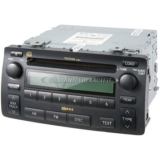 Buyautoparts 1840292r Buy Auto Partsrhbuyautoparts: 2000 Toyota Corolla Oem Radio Cd Player At Gmaili.net