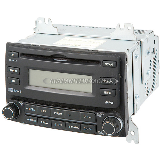Hyundai Elantra Extended Warranty: 2009 Hyundai Elantra Radio Or CD Player AM-FM-MP3-Single