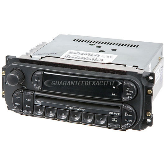2004 Jeep Liberty Radio Or Cd Player Radio 6cd With Face