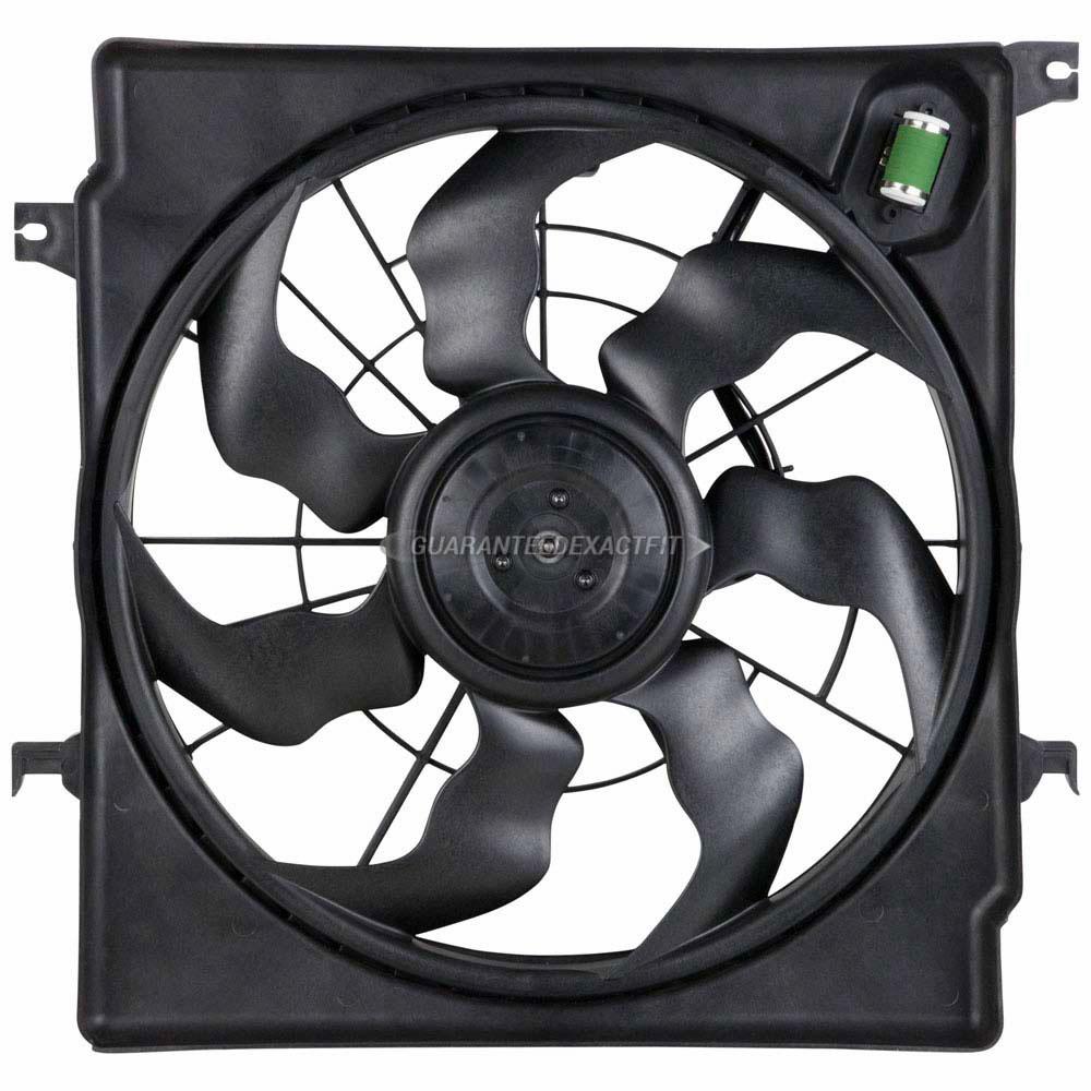 253804R500 HY3115149 New Cooling Fan Assembly for Hyundai Sonata Kia Optima