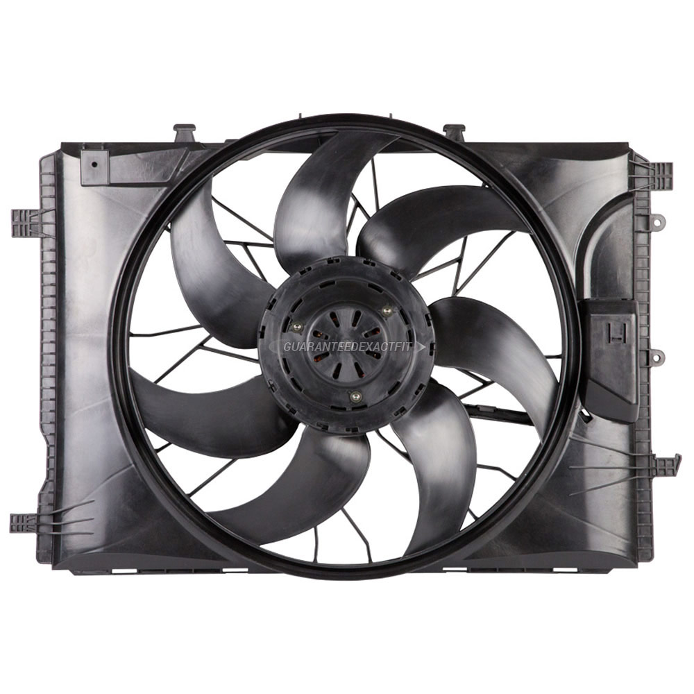 Mercedes Benz C300 Cooling Fan Assembly