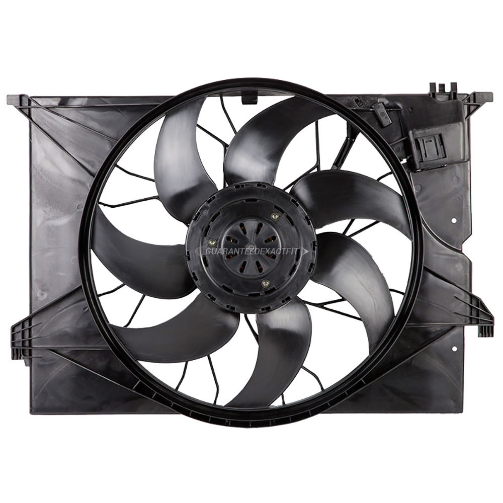 2007 Mercedes Benz CL550 Cooling Fan Assembly