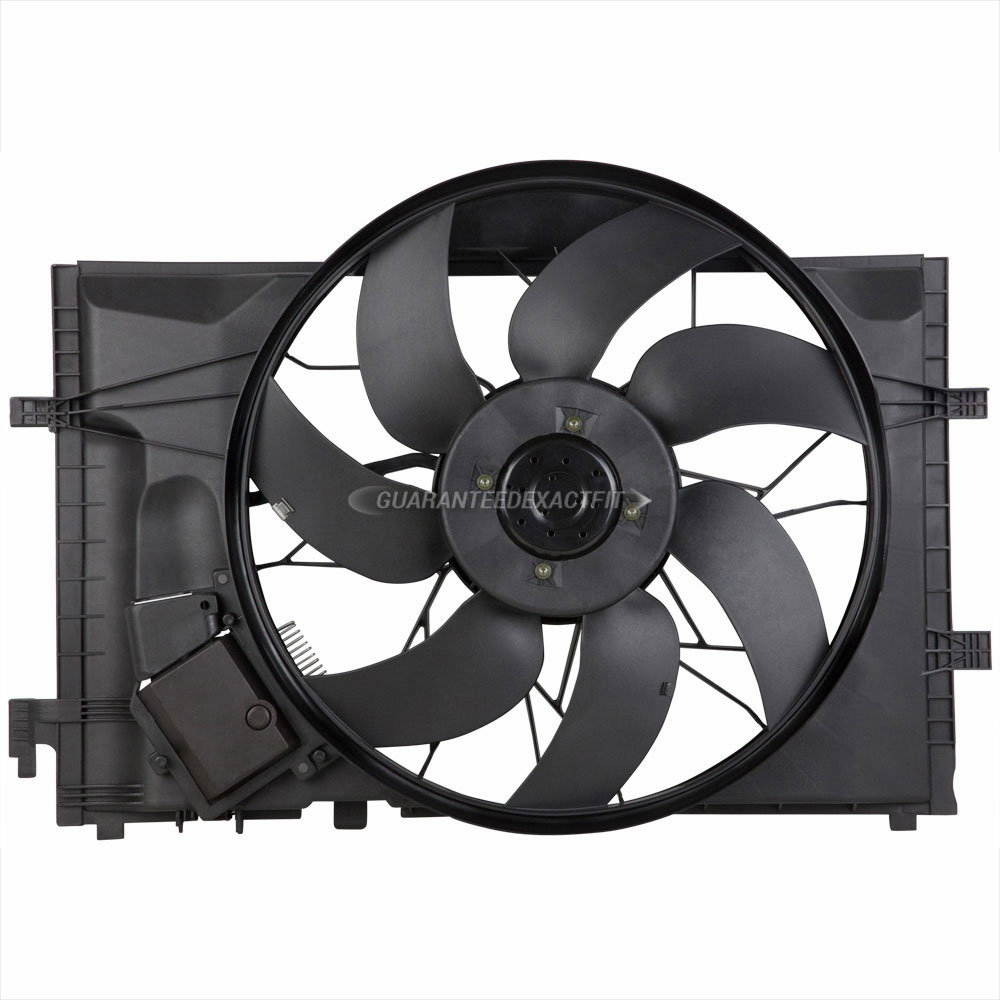 Mercedes Benz C55 AMG Cooling Fan Assembly