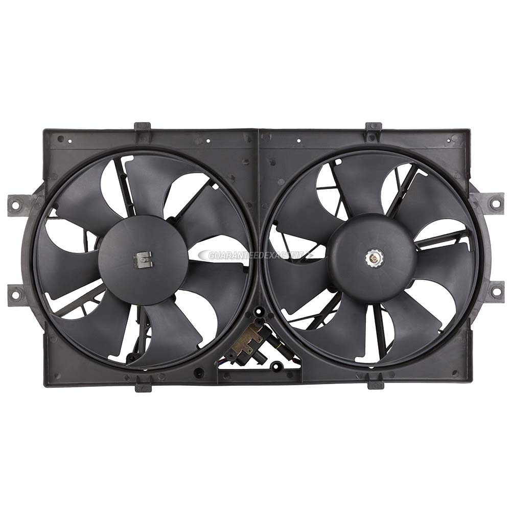 Chrysler LHS Cooling Fan Assembly