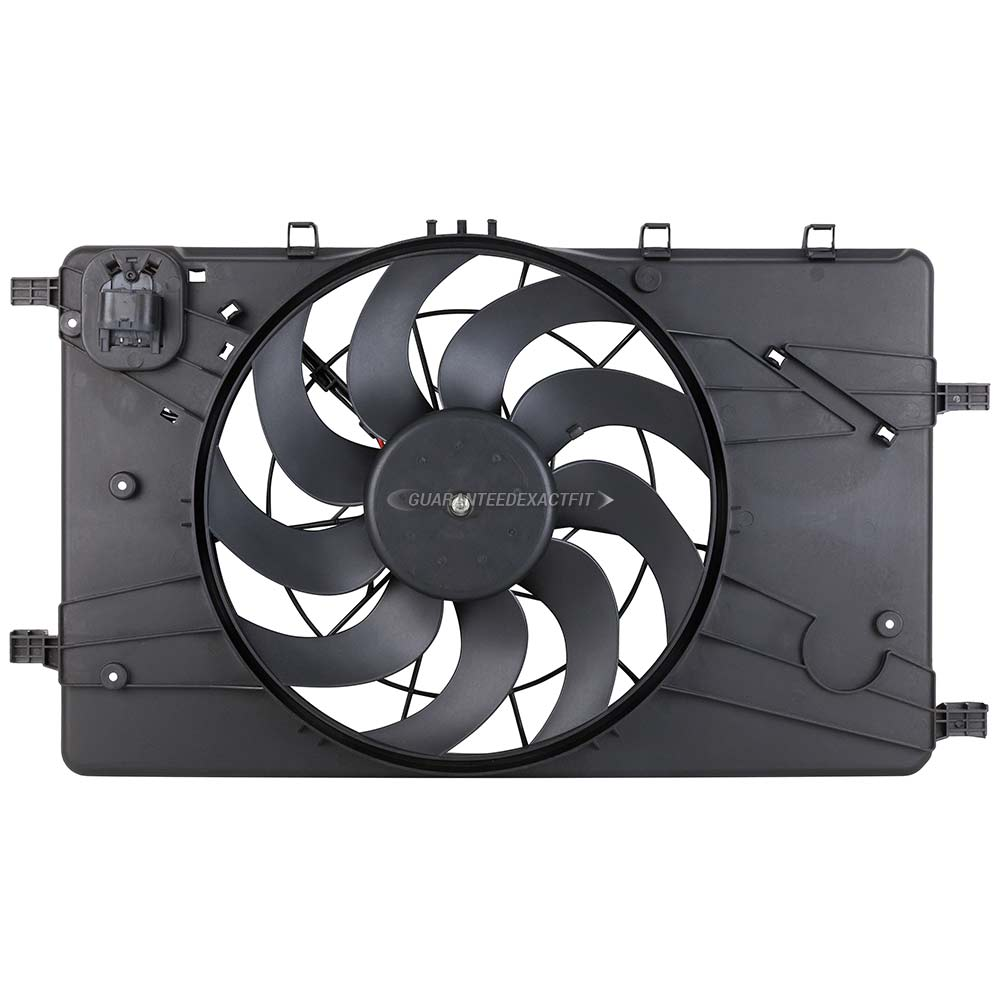 Chevrolet Cruze Cooling Fan Assembly