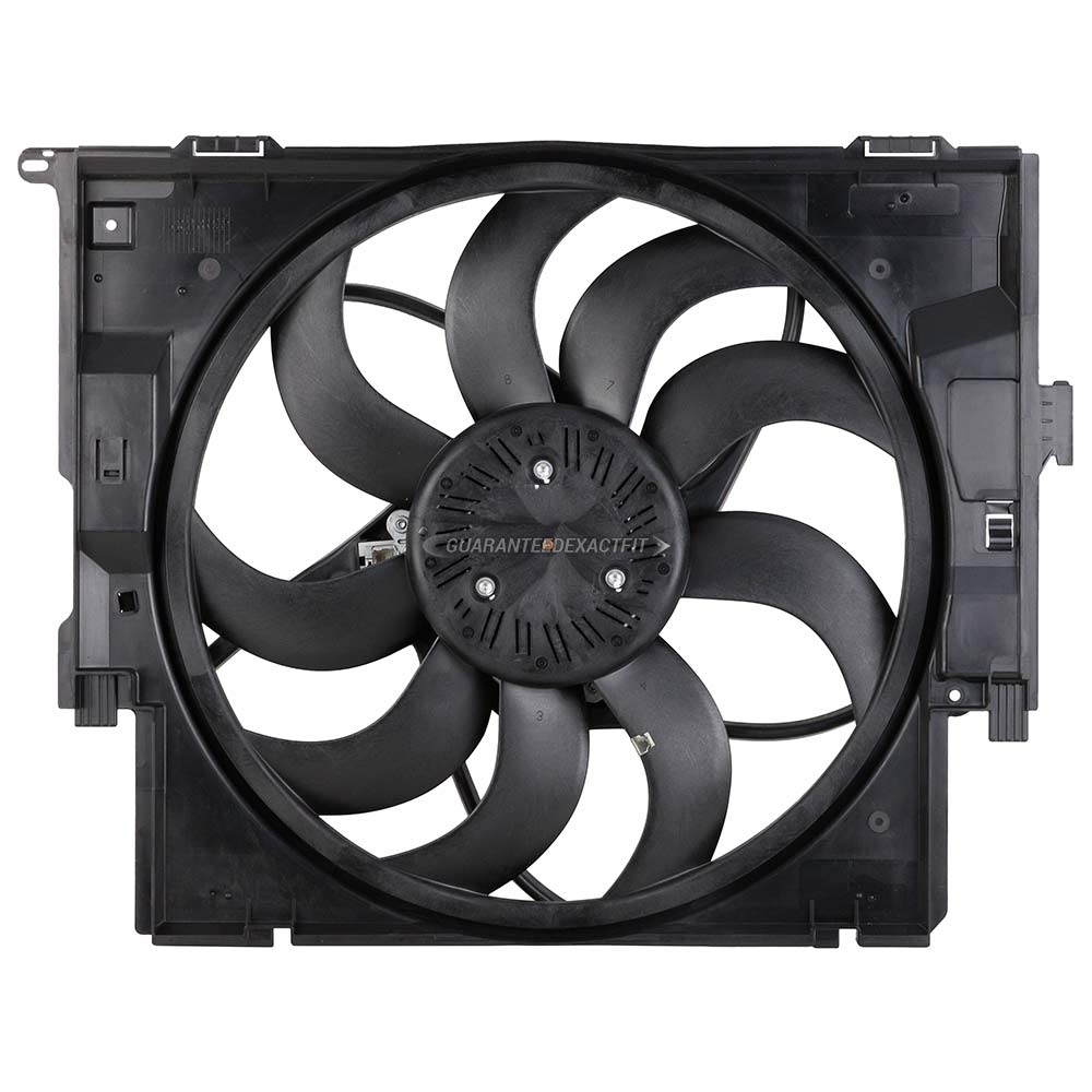 BMW 428i Cooling Fan Assembly