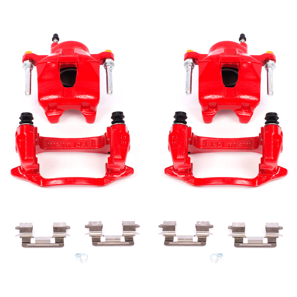 Front Red Brake Calipers For 2005-2010 Scion TC 2000-2005 Toyota Celica