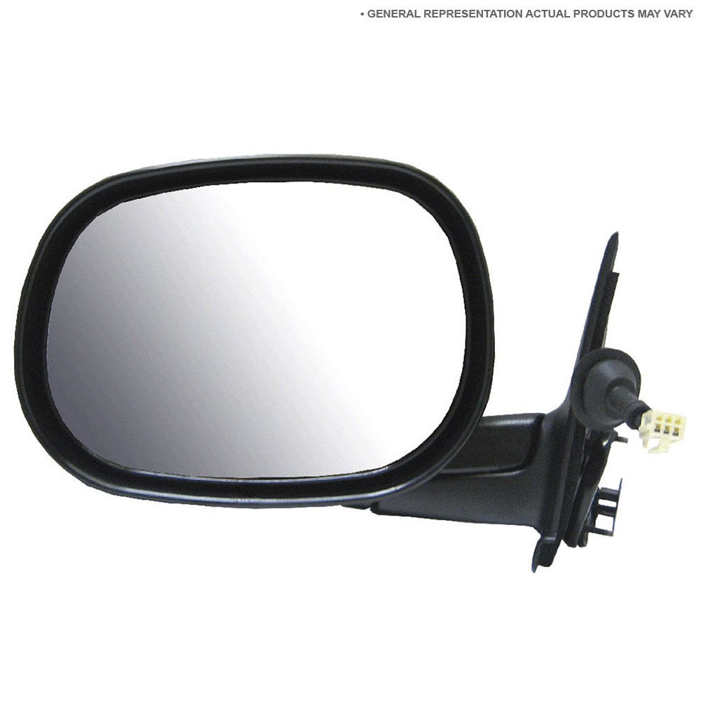 BuyAutoParts 14-11166MI Side View Mirror