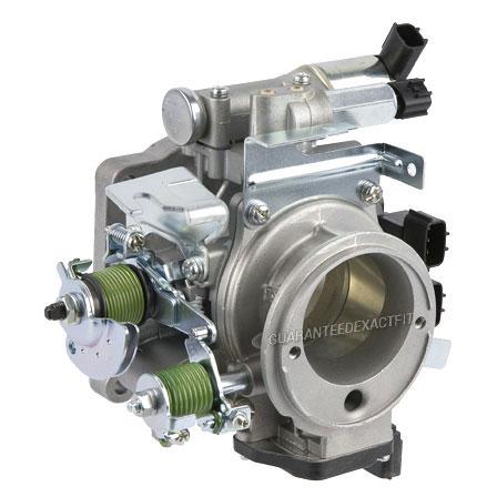 Frontier Auto Sales >> 2000 Nissan Xterra Throttle Body 2.4L Engine 47-60132 ON