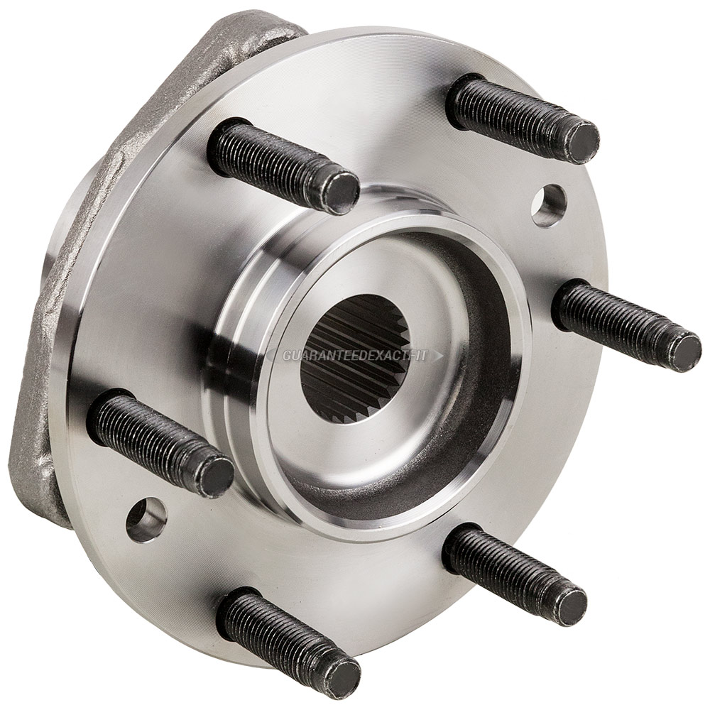 2008 Chevrolet Trailblazer Wheel Hub Assembly Front Hub