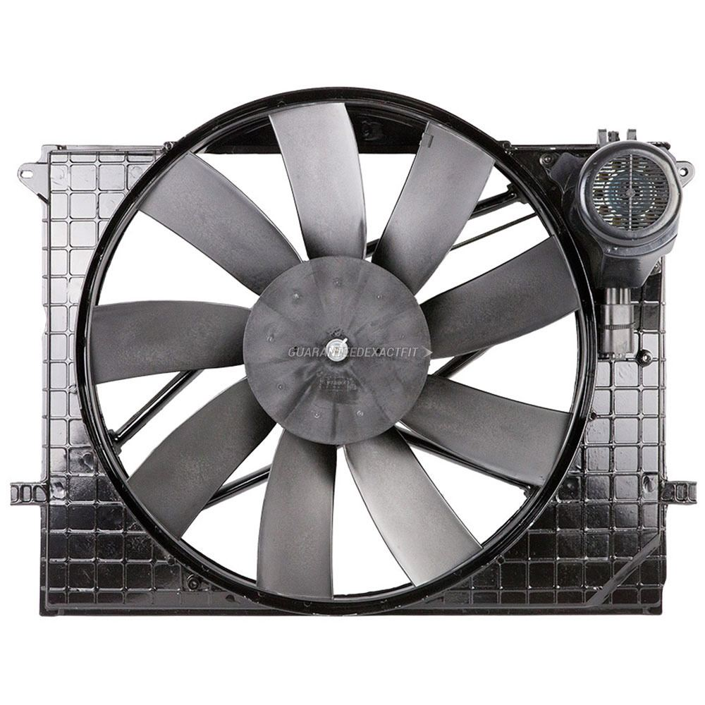 Mercedes Benz S500 Cooling Fan Assembly