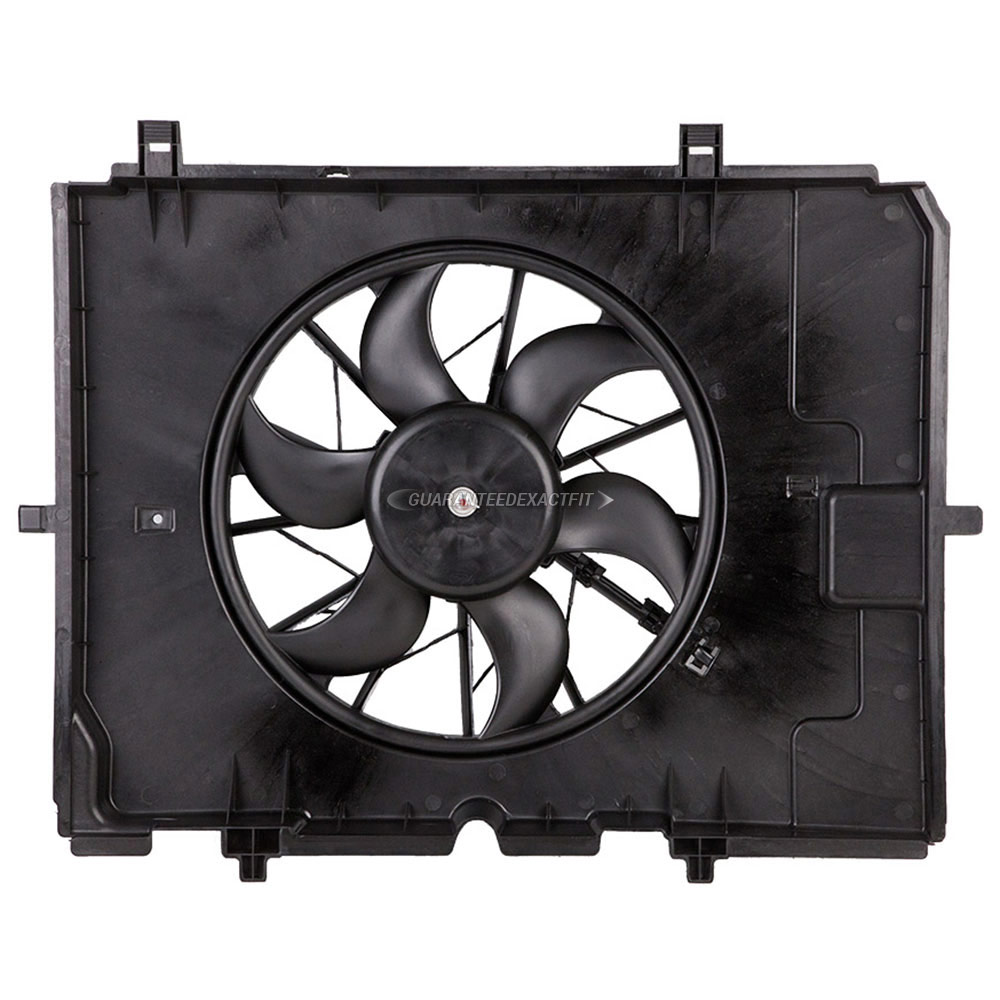 1997-2009 Mercedes Benz C230 Cooling Fan Assembly