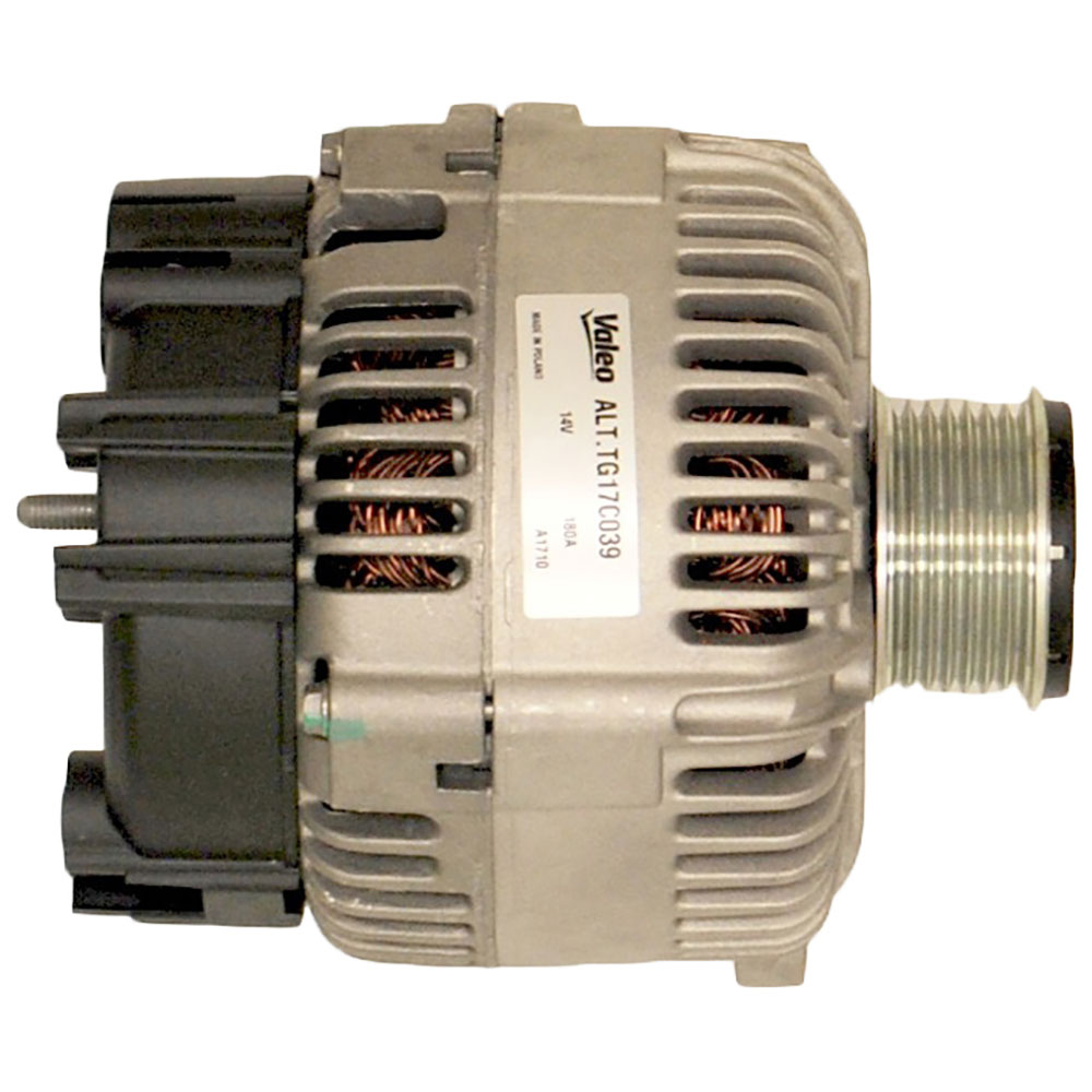 2008 Audi Q7 Alternator 3.6L Engine 31-01392 ON