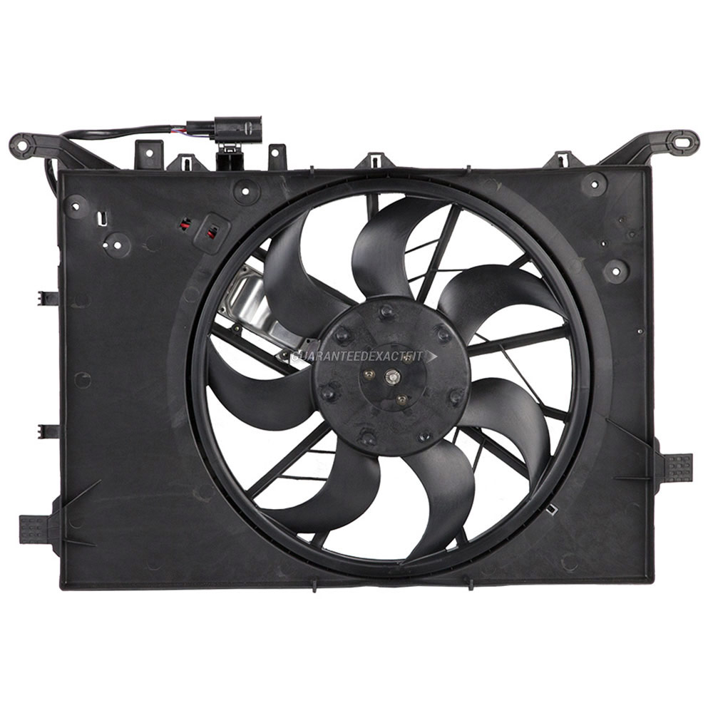 2007 Volvo S60 Cooling Fan Assembly