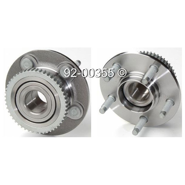 Mercury Cougar Wheel Hub Assembly