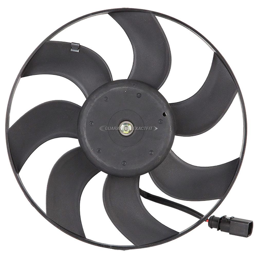 Volkswagen GTI Cooling Fan Assembly