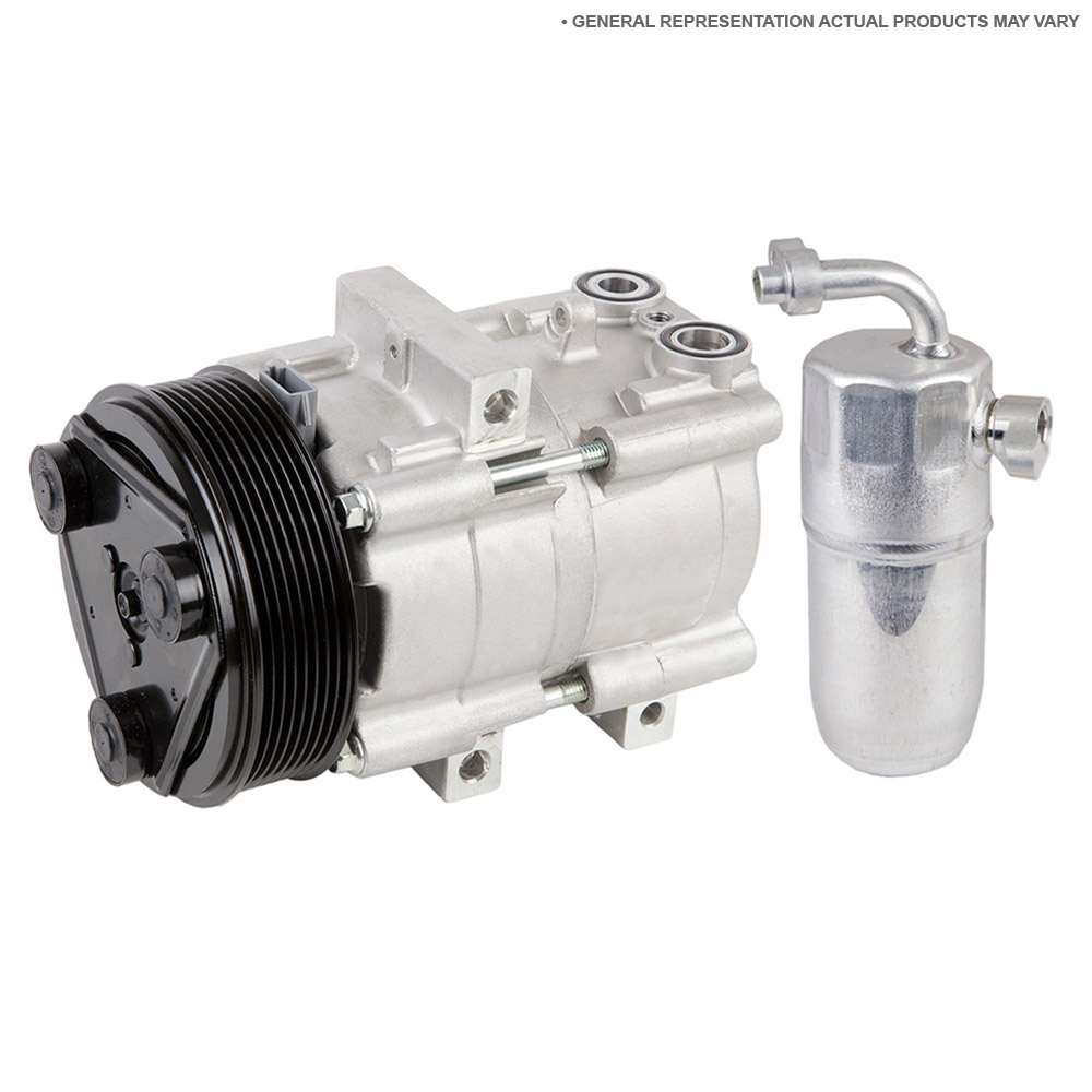 Mercury Topaz A/C Compressor and Components Kit